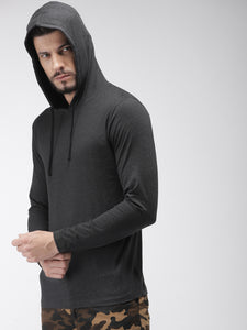 Premium Grey Hooded T-Shirt Rs.474 | Book For Rs.31 Only | #StreetWear