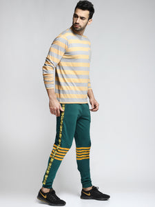 Men Green Solid Straight-Fit Joggers PRICE : Rs.599 | Book For Rs.31 Only