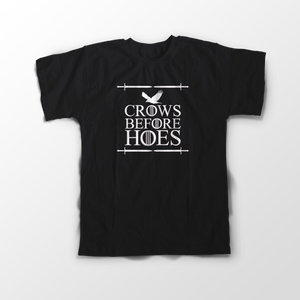 Game Of Thromes crows Sleeve T-Shirt - Badtamees