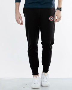 Best Seller: Black Summer Captain America Joggers - Badtamees