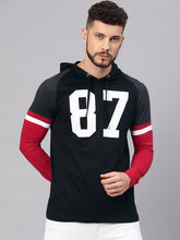 Baseball Style Hooded T-Shirt Rs.449 | Book For Rs.31 Only | #StreetWear