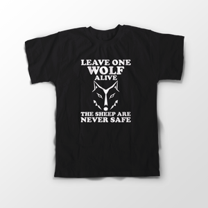 Game Of Thromes Wolf Official Sleeve T-Shirt - Badtamees