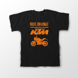 KTM Official DUKE Black Half Sleeve T-Shirt - Badtamees