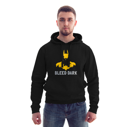 Bleed Dark Batman Black Hoodie - Badtamees