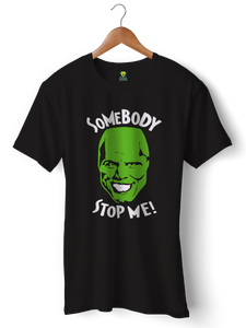 The Mask Funny Half Sleeve T-Shirt - Badtamees