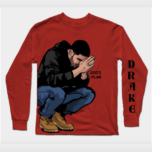 Drake Premium Long Sleeve Tee PRICE: Rs. 399 | Book for Rs. 31 only