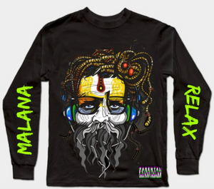 Malana Baba black full sleeves T-Shirt