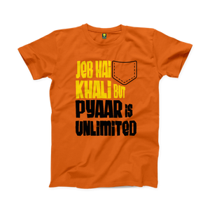 Pyar Unlimited Half Sleeve T-shirt - Badtamees