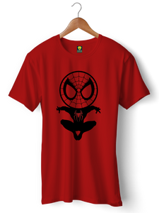 Spiderman funny Half Sleeve T-Shirt - Badtamees