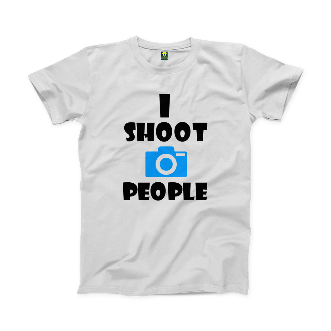 I Shoot People Half Sleeve T-shirt - Badtamees