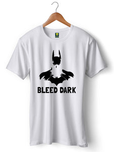 Batman Bleed Dark Half Sleeve T-Shirt - Badtamees