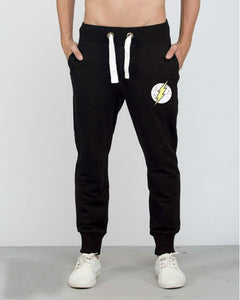 The Flash Logo (DCL) (Black) Summer joggers - Badtamees