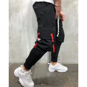 Latest Black Cargo Premium 5 Pocket Joggers_Fashion Sale