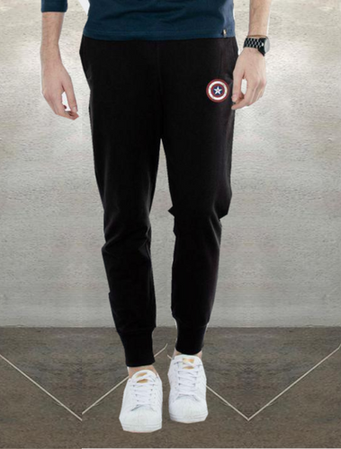 Best Seller: Black Summer Captain America Joggers