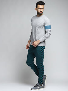Men Green Solid Slim-Fit Joggers PRICE : Rs.649 | Book For Rs.31 Only