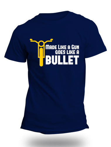 Made Like a Gun Enfield Half Sleeve T-Shirt - Badtamees
