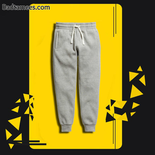 Premium Solid Gray Thick Joggers