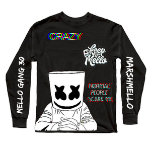 Marshmello Black Premium Digital Fashion tee_Fashion sale