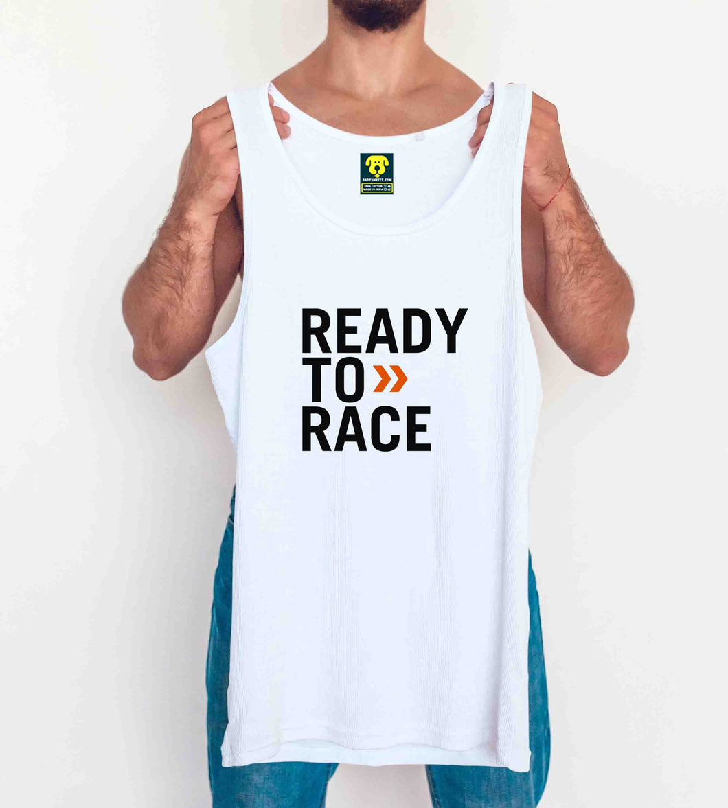 KTM offical Race Edition Tank Vest White - Badtamees