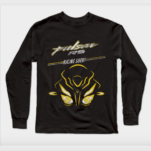 Pulsar RS Racing Soon Official Black Full Sleeve Premium T-Shirt