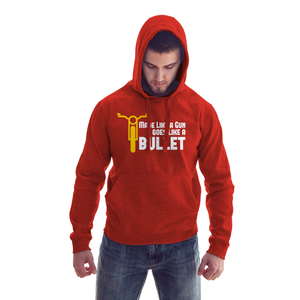 Made Like a Gun Bullet Enfield official RedHoodie - Badtamees