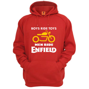 Boys ride Toys Enfield official Red Hoodie - Badtamees