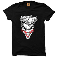 Joker Glow in the Dark Black Half Premium Sleeve T-Shirt - Badtamees