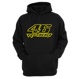 Star Rossi 46 official black Hoodie - Badtamees