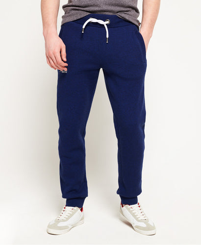 Premium Solid Navy Blue Thick Joggers