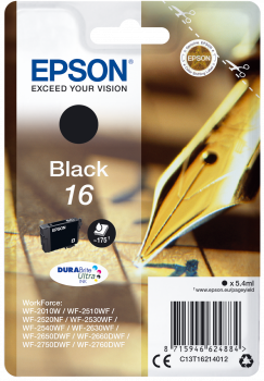 Epson T16 Black Fountain Pen