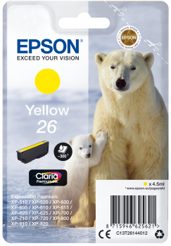 Epson T26 Yellow Polar Bear