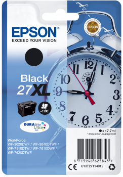 Epson T27XL Black Alarm Clock