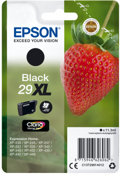 Epson T29XL Black Strawberry