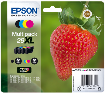Epson T29XL Multipack Strawberry
