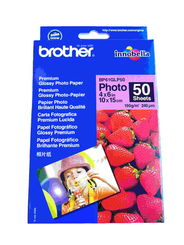 Brother Glossy Photo Paper 10x15 cm 240 gsm 50 sheets