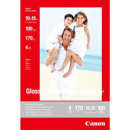 Canon GP-501 Glossy Photo Paper 10cmx15cm - 100 sheets