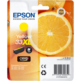 Epson T33 XL Yellow - Oranges