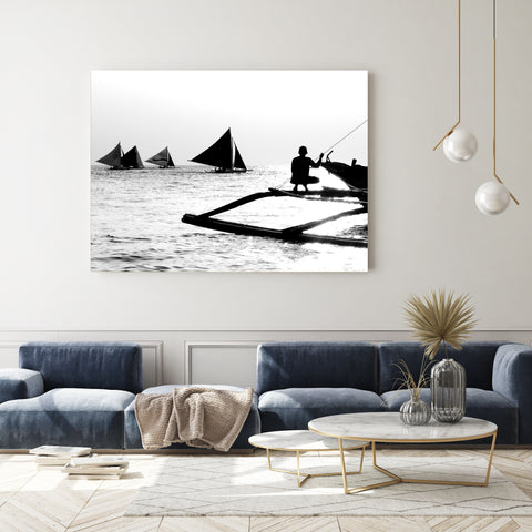 Afternoon Fishing | Canvas Art