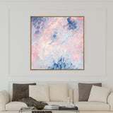All The Pinks | Drop Shadow Framed Art