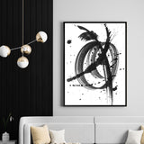 Black & White Dreams 3 | Shadow Framed Art