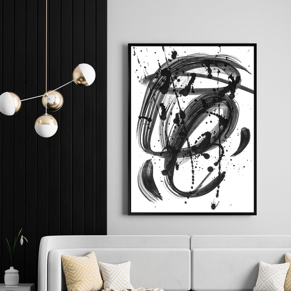Black & White Dreams | Shadow Framed Art