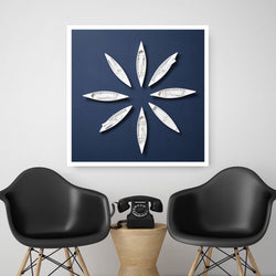 Boat Flower | Canvas Art