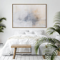 Calm Morning | Drop Shadow Framed Art