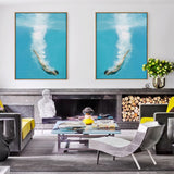 Deep Sea Loving Right | Drop Shadow Framed Art