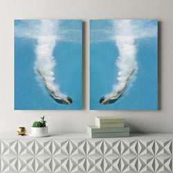 Diving For Love | 2 x Canvas Art