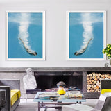 Diving For Love | 2 x Framed Art