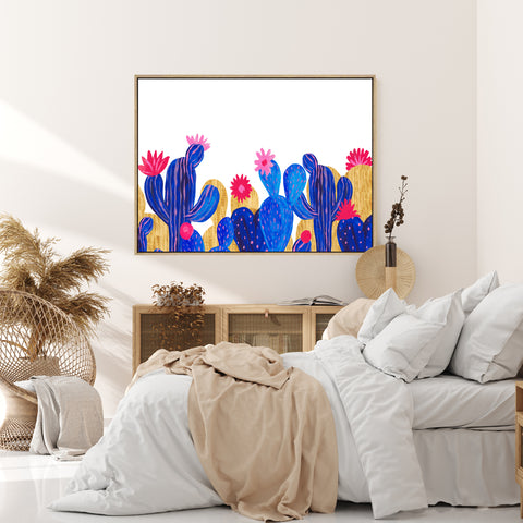 Desert Rain | Drop Shadow Framed Art