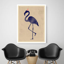 Flamingo Party | Canvas Art