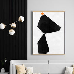 Hanging Rock | Drop Shadow Framed Art