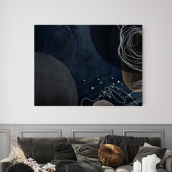 Midnight Blues | Canvas Art